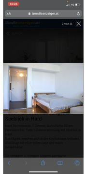 1-Zimmer-Wohnung mit Balkon in Hard