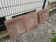 Betonplatten mit farbiger weicher Oberfläche