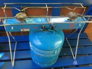 Campingkocher mit Gas