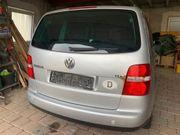 Familienauto VW Touran zum Reparieren