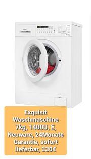 Exquisit Waschmaschine 7kg 1400U