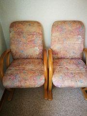 4 bequeme Esszimmerstühle Esszimmersessel mit