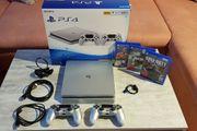 PlayStation 4 500 GB Silber