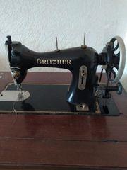 Gritzner Nähmaschine mit Schrank