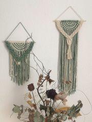 Makramee Wandbehang Set