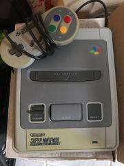 Verkaufe Super Nintendo mit Spiele