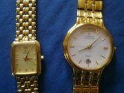 Herren und Damen Uhr 585
