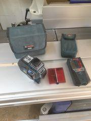 Bosch Linienlaser mit Empänger