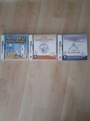 Nintendo DS 3xLernspiele
