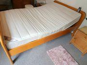 Bett inkl Matratze elektrisch verstellbar