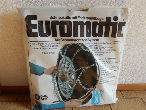 RUD Euromatic Bügelschneeketten Schneeketten 15