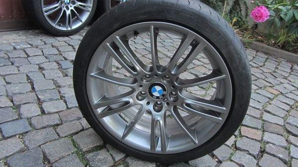 2 BMW M-ALU-Felgen Doppelspeiche 8