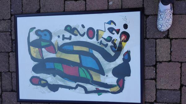 Kunstdruck Miro
