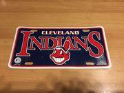 USA Nummernschild Cleveland Indians
