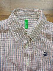 Benetton Karohemd Hemd für Jungs