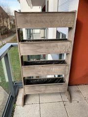 Vertikalbeet Hochbeet für Balkon Terrasse
