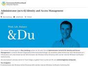 Administrator m w d Identity