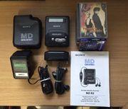Sony MZ R2 Protabler Minidiskrecorder