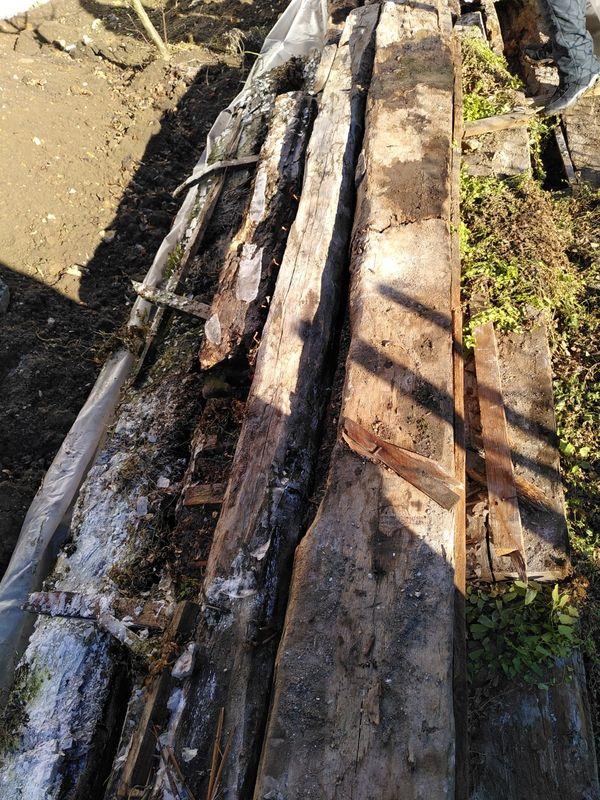Alte Eichenholz Balken