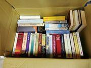 8 - 10 Kartons Bücher fast
