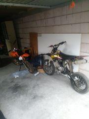 quad 250ccm und 140ccm pitbike