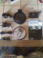 Neuwertiger Tragbarer CD - Player MD