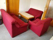 Biete Couch Garnitur 3 teilig