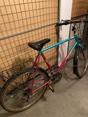 Fahrrad ohne Kette mit abholen