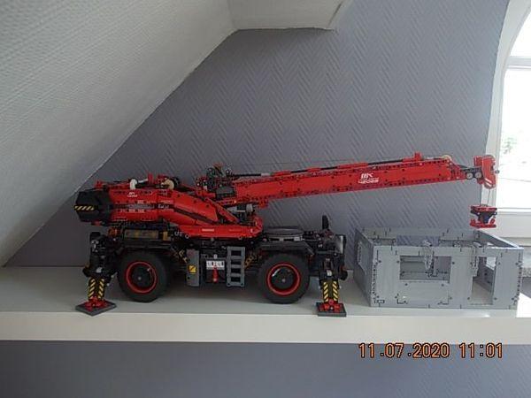 Lego Technik AutoKran rot und