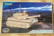 Holzpuzzle Panzer original verpackt