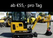 Minibagger Mini Bagger JCB 2t