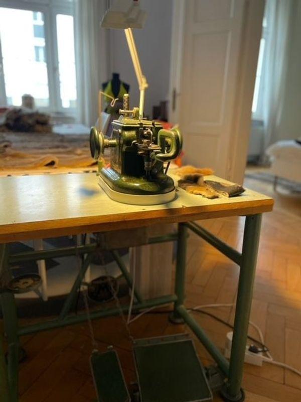 Pelznähmaschine Rittershausen Success 72 Marke
