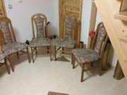 6 Esstisch - Stühle zu verkaufen