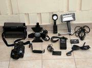 JVC Video Kamera mit Zubehör