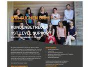 Kundenbetreuer 1st Level Support