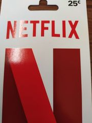 Netflix 25 Guthabenkarte NEU