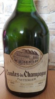 Champagner Taitinger 1970
