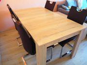 Esstisch mit 4 Stühlen im