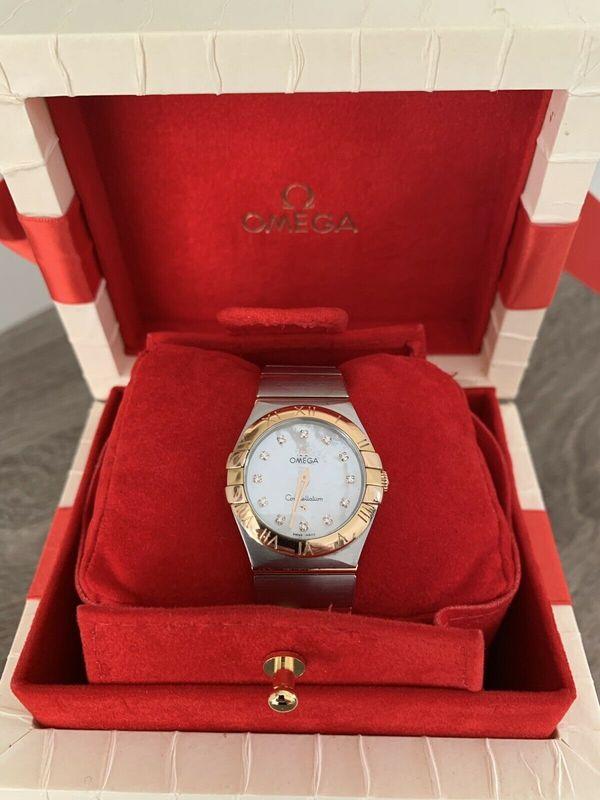 Omega Constellation 31mm Damen Armbanduhr