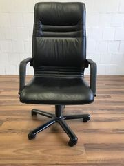 Bürodrehstuhl gebraucht Leder