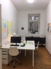 Büroarbeitsplatz und Atelier
