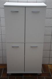 Universalschrank Badschrank 4 Türen Einlegeböden