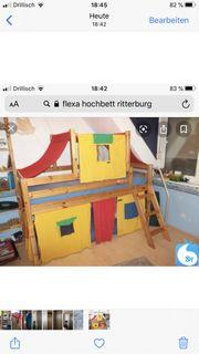 Flexa Hochbett Ritterburg