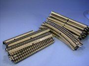 Märklin Metallgleise mit durchgehenden Mittelleiter