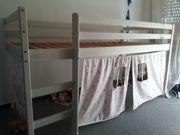 Kinderhochbett von Ikea halbhoch