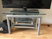 TV Tisch Glastisch