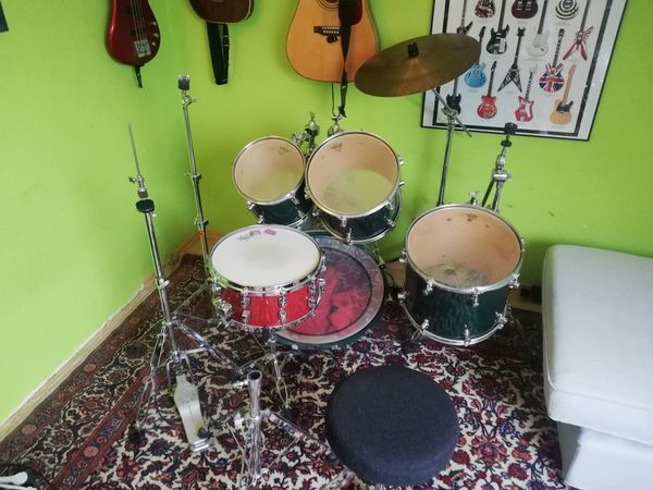 Schlagzeug Sonor S-Class Emerald Green