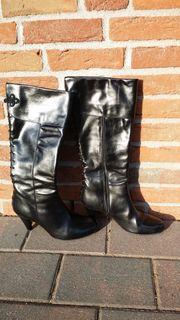 Echte Damen-Lederstiefel - Gr 39 - sehr