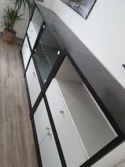 Sideboard schwarz weiss