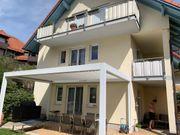 Pergola Terrasse Sonnenschutz elektrisch